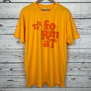 The Format Band Short Sleeve Tee